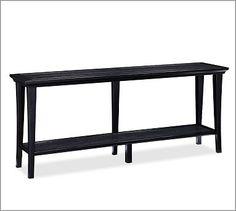 Metropolitan Long Console Table #potterybarn