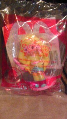 McDonald's Happy Meal Toys~Strawberry Shortcake Lemon Meringue Scented Toy #4 by McDonald's. $3.25. McDonald's Happy Meal Toys~Strawberry Shortcake Lemon Meringue Scented Toy #4