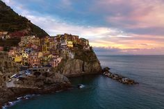 One day in Manarola - null