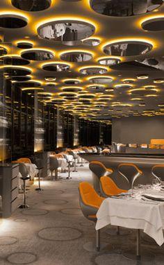 Lovely Ciel De Paris Restaurant, Paris.