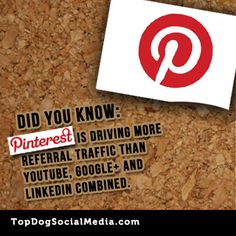 Have you added a link on Pinterest to drive more traffic to your blog? Pinterest marketing is driving more traffic than YouTube, Google  and LinkedIn combined. - www.connectingsmarter.com brought to you by http://www.bootcampmedia.co.uk/
