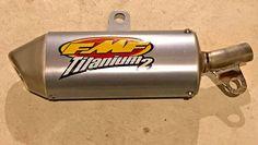 http://motorcyclespareparts.net/1989-2016-suzuki-rm85-rm-80-85-fmf-titanium-2-shorty-silencer-muffler-023013/1989 - 2016 SUZUKI RM85 RM 80 85 FMF TITANIUM 2 SHORTY SILENCER MUFFLER 023013