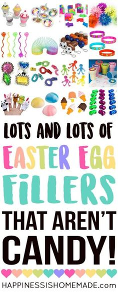 40 non candy egg filler ideas easter pinterest egg easter here are 25 awesome non candy easter egg fillers that are sure to be a huge hit with your kids perfect for easter egg hunts and baskets negle Images