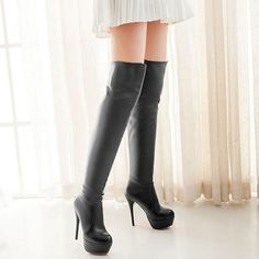 Over the Knee Pla...  at ReShop Store  here http://www.reshopstore.com/products/over-the-knee-platform-thigh-high-boots-up-to-size-15?utm_campaign=social_autopilot&utm_source=pin&utm_medium=pin