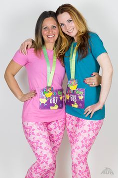 Celebrate Spring with our Chicks On A Run 4 Miler Virtual Race! Colorful and sparkly medal is a great addition to your race medal collection.