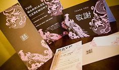 Dragon and Phoenix w/ English and Chinese by BambooStarStudios, $9.50