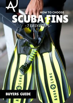 Learn how to choose scuba diving fins - Scuba Diving Gear and Equipment Posts – Dive Products and Accessories