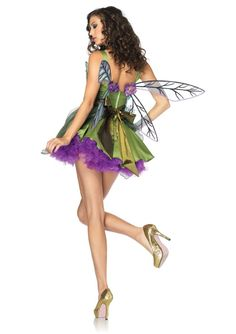 Woodland Fairy Adult Costume  #sexy womens costumes #sexy halloween costumes