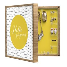 Allyson Johnson Hello Gorgeous BlingBox Petite | DENY Designs Home Accessories