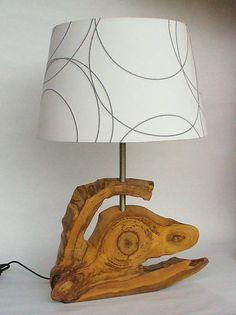 Wood / Stlová lampa DRAK