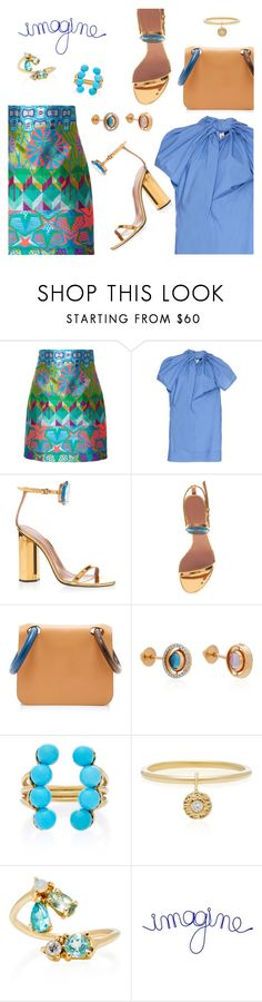 """""""Outfit of the Day"""" by dressedbyrose ❤ liked on Polyvore featuring Cynthia Rowley, Marni, Marco de Vincenzo, Roksanda, Marie Mas, Yvonne Léon, Eden Presley, WALL, ootd and polyvoreeditorial"""