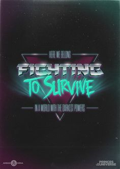 A retro-futuristic typographic tribute to one of the greatest songs in history, to the awesome movie it was created for and to the decade that gave them to us. 1980s Design, Retro Design, 1980s Font, Cyberpunk, Typography Fonts, Lettering, Princes Of The Universe, Calligraphy Text, Affinity Designer
