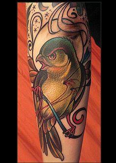 a robin (i think)