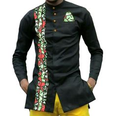 African print mens dashiki shirts men's African clothes patchwork shirt men long sleeve stand collar shirt in Africa clothingItem Type: Africa ClothingSpecial Use: Traditional Clothing Material: Cotton, Polyester Gender: MenType: shirts - Online Shopping African Shirts For Men, African Attire For Men, African Wear, African Style, African Dress, African Women, African American Fashion, African Fashion Dresses, Fashion Outfits