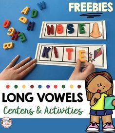 Long Vowels SUPER E Phonics Unit - FREEBIE — Keeping My Kiddo Busy