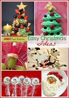 Cute & Easy Christmas Ideas #Christmas