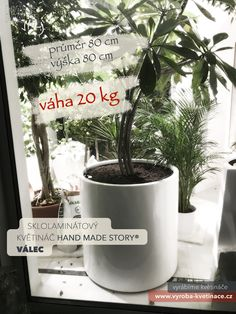 🎈Kromě dokonalého designu je ohromnou předností našich sklolaminátových květináčů NÍZKÁ HMOTNOST. Například ve srovnání s betonovými květináči, jsou sklolaminátové květináče až 10X lehčí! Navíc ze zkušeností víme, že při umístění v exteriéru prospívají rostliny ve sklolaminátových květináčích mnohem lépe. 🌳 Planter Pots, Design