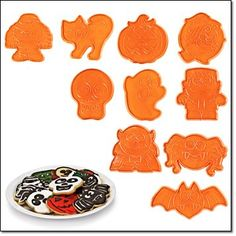 Avon Halloween Creepy Cute Cookie Cutters -- You can get more details by clicking on the image.(This is an Amazon affiliate link and I receive a commission for the sales)