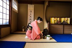 Traditional Japanese Tea Ceremony in Kyoto, Japan…
