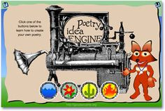 Poetry Idea Engine | Writing with Writers | Scholastic.com