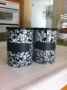 Repurpose coffee cans