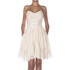 92a08504d5 Band Of Outsiders SLIP DRESS WITH CRISS CRO Popular Clothing Brands
