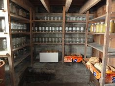 Basement Root Cellar