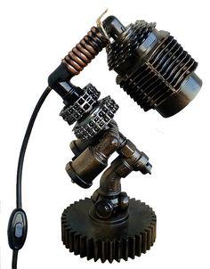 Iluminación industrial  lámpara Steampunk  Loft  lámpara de