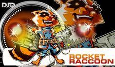 Marvel Comics ROCKET RACCOON by Dve6