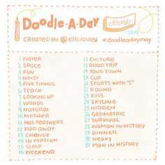 Rhi-Creations: Doodle a Day May