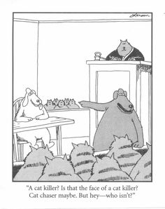 29 Ideas Funny Cartoons Humor Comics The Far Side Far Side Cartoons, Far Side Comics, Funny Cartoons, Funny Comics, Cat Comics, The Far Side Gallery, Gary Larson Cartoons, Gary Larson Far Side, Really Funny Pictures