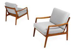 60er teak sessel danish design 60s easy chair vintage midcentury vodder ra 1960 1969 bild. Black Bedroom Furniture Sets. Home Design Ideas