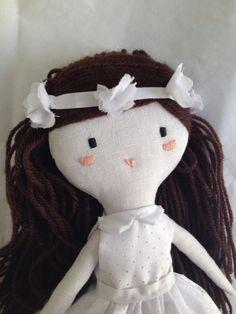 ploudoll muñecas de tela hechas mano comuniones  ploudoll   handmade cloth dolls