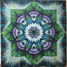 Hawaiian Star, Quiltworx.com, Made by Lorrie Gray