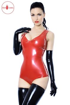 Red Label - Belle Leotard.Simple and glamorous~ a scooped necked~ gathered front garment with delicate contour lines.``Shoulder straps and open upper back.  ...