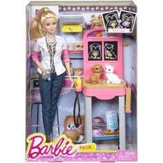 sale - $13.98 - Barbie Careers Play Set, Pet Vet nev, f, l - on clearance and in stock at Target for the same price