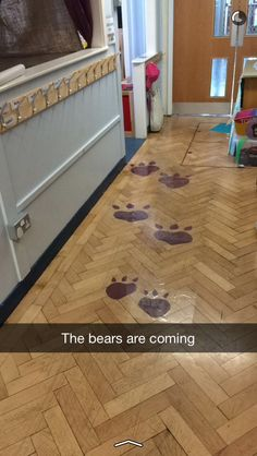 #eyfs #traditionaltales #goldielocks  the three bears are coming on Monday