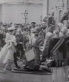 he Imperial family in Moscow on Palm Sunday, April 2, 1903.