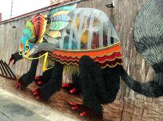 El Curiot street art Michoacán