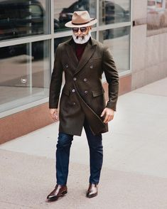 Old Man Fashion, Older Mens Fashion, Mens Fashion Suits, Mens Suits, British Mens Fashion, Fashion For Men Over 50, British Style Men, Tweed Suits, Fashion Hair