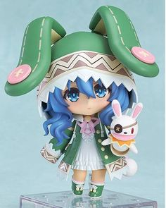 """12.64$  Buy here - http://alifk9.shopchina.info/go.php?t=32727812377 - """"anime Cute Nendoroid 4"""""""" Date A Live Yoshino PVC Action Figure Collection Model baby Toys brinquedos in box"""" 12.64$ #buyininternet"""