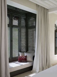 Window Treatment Ideas - A lot of options, so little time! I initially think of timber . Ipad Air, Faux Wood Blinds, Study Nook, White Rooms, Home Decor Inspiration, Decor Ideas, So Little Time, 6s Plus, Modern Decor