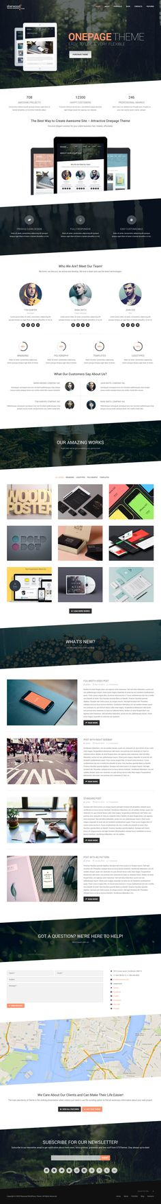 One page Design | #onepagedesign #neutral