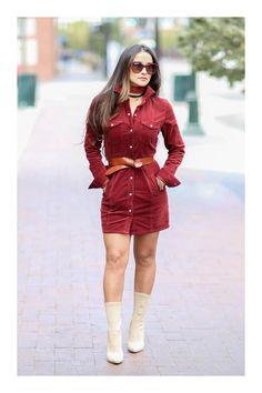 Los 5 mejores outfits para una reunión en familia  TiZKKAmoda  vestido  rojo    e380ee30709f