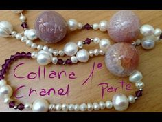 Collana Chanel perle coltivate e agate craccate Q 2, Chanel, Needlepoint, Jewelry Box, Diy Jewellery, Agate, Pearl Necklace, Beaded Bracelets, Pendant