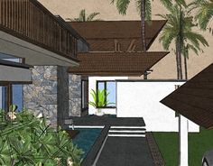 """Check out new work on my @Behance portfolio: """"tropical architecture.."""" http://be.net/gallery/52539283/tropical-architecture"""