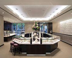 e258ac38cda Boutiques  Tiffany   Co. Düsseldorf - GF Luxury Schmuckgeschäft Design