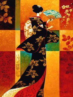 Sakura by Keith Mallett