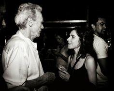 Clint Eastwood and PJ Harvey