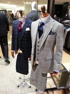 Paid for 2 suits Sharp Dressed Man, Well Dressed Men, Mens Fashion Suits, Mens Suits, Grey Suits, Suit Combinations, Mens Attire, 3 Piece Suits, Suit And Tie